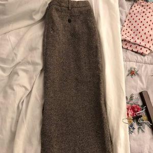 David Hollis A-line Wool skirt size 14